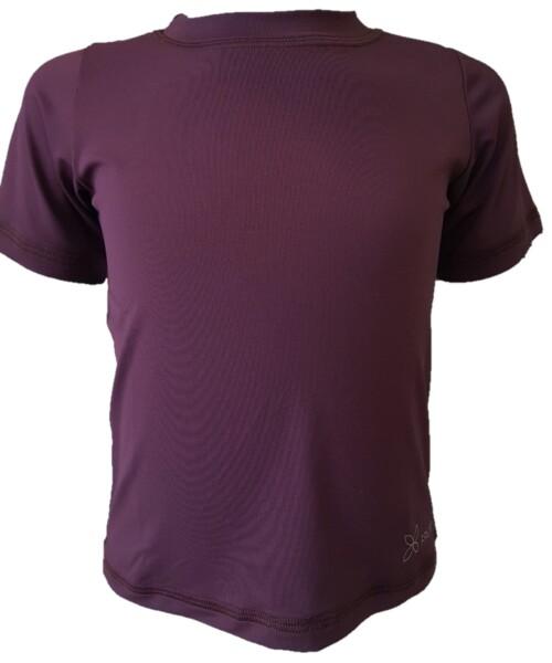 Camiseta Infantil Roxa