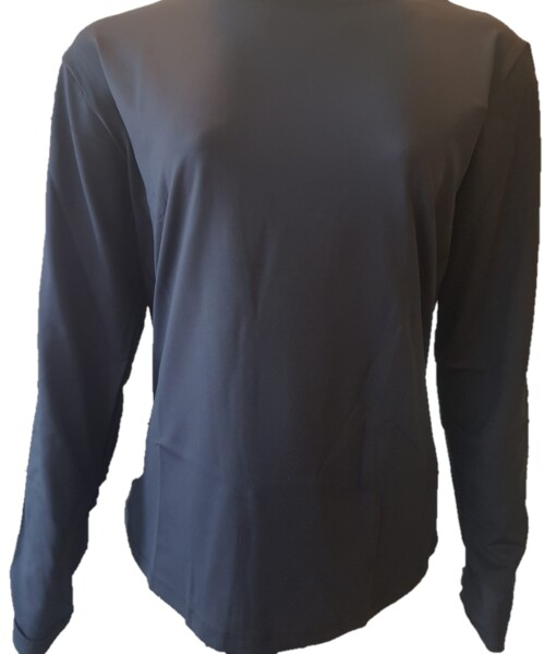 Camiseta UV Preta Infratherm