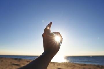 Sol afeta a pele